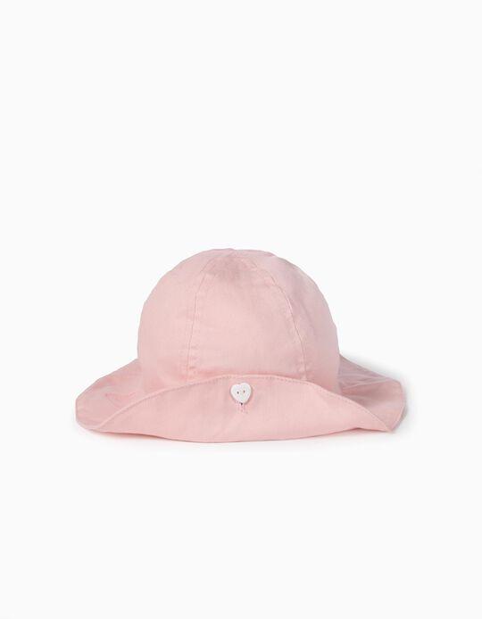 Sombrero para Bebé Niña, Rosa