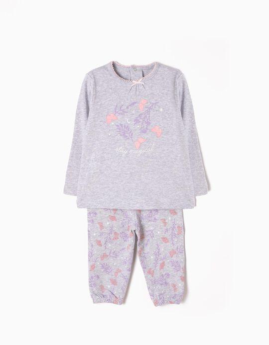 Pijama Manga Comprida e Calças Magical