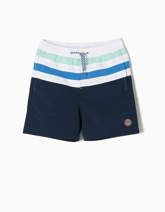 Bañador Short Azul