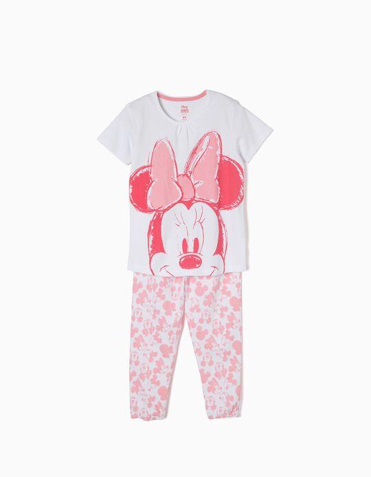 Pijama Manga Curta Minnie