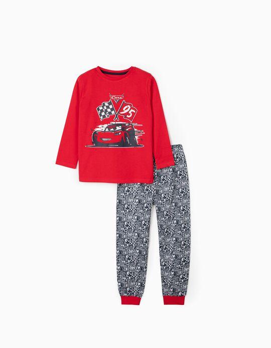 Pyjamas for Boys, 'Cars', Red