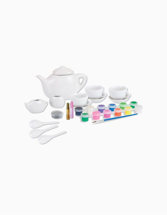 Conjunto Pintura Festa Chá Colorino