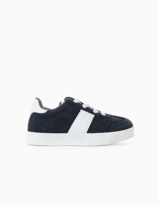 Zapatillas para Bebé Niño 'ZY Retro', Azul Oscuro