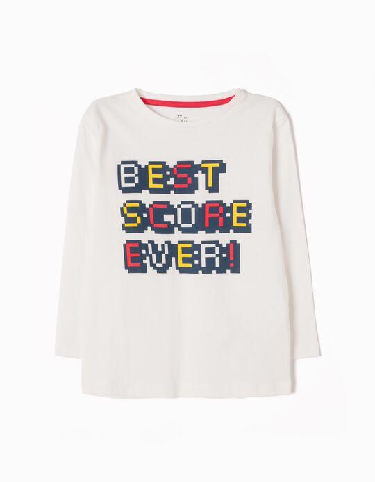 Camiseta de Manga Larga Best Score