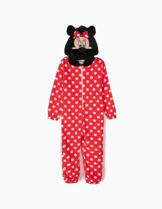 Pijama Mono con Capucha Minnie