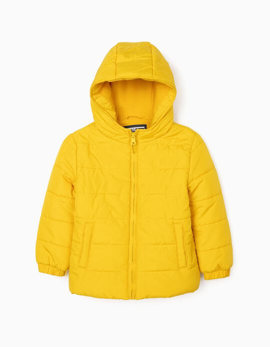 Padded Jacket for Boys, Yellow