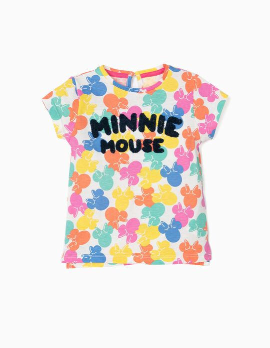 T-shirt para Bebé Menina 'Minnie Mouse', Multicolor