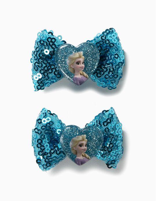 2 Travessões de Cabelo para Menina 'Frozen II', Azul