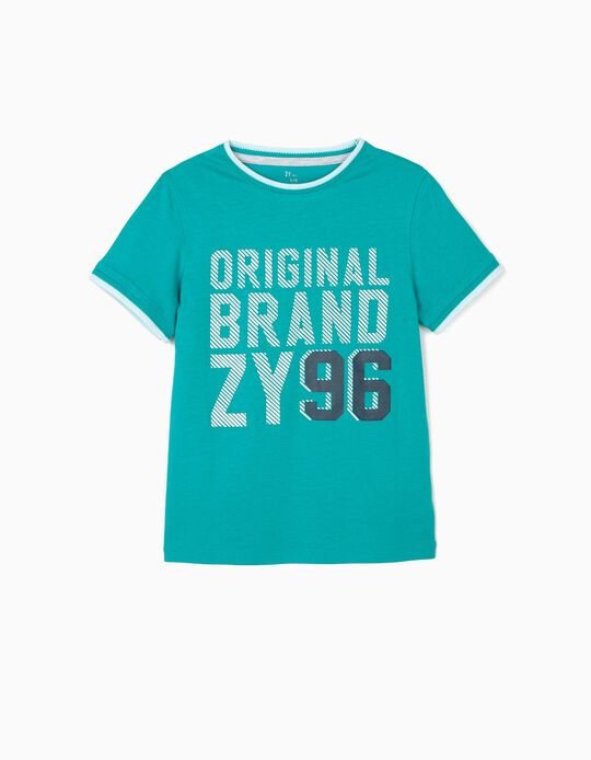 Camiseta para Niño 'ZY 96', Verde