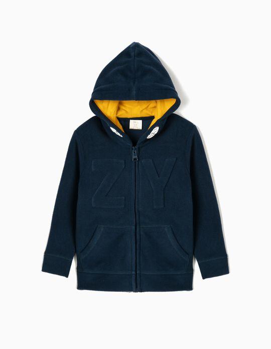 Casaco Polar para Menino 'ZY', Azul