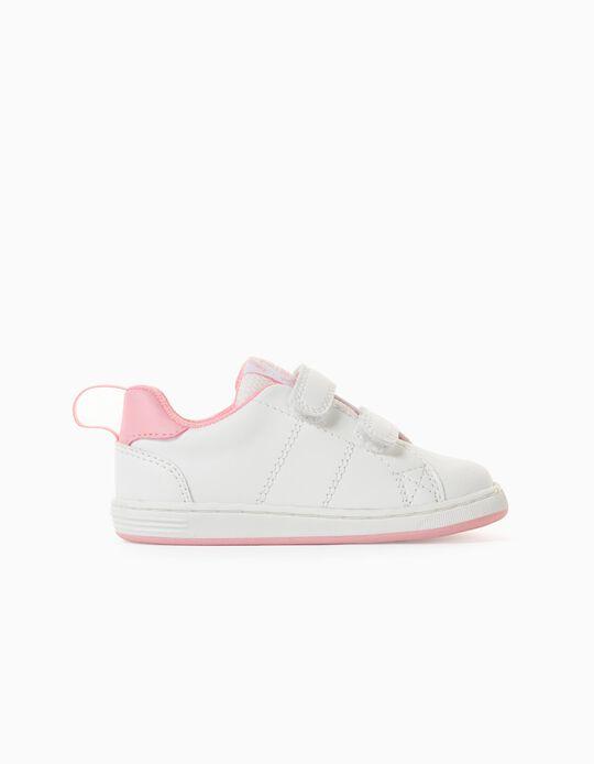 Zapatillas para Bebé Niña 'ZY 1996', Blanco/Rosa
