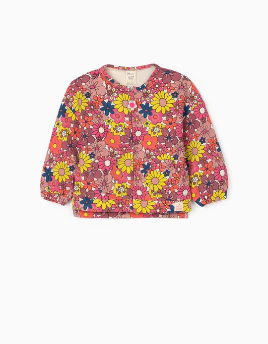 Jacket for Baby Girls 'ZY Girl Power', Pink