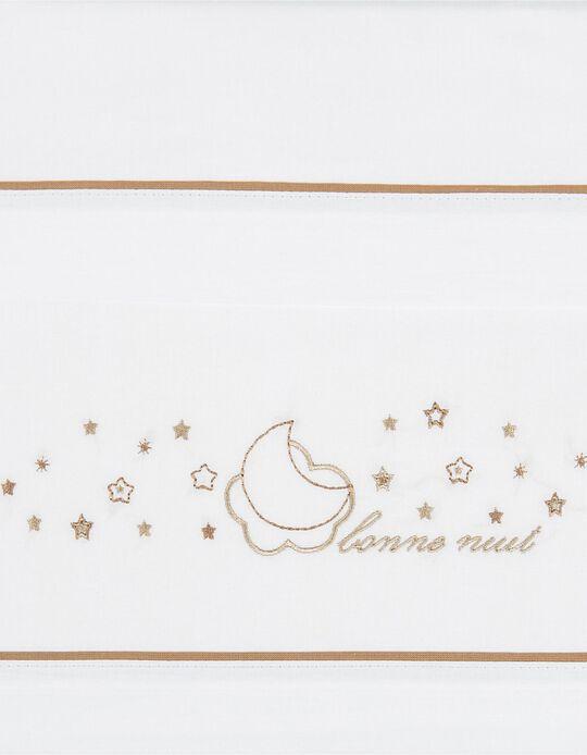 Conjunto De Lençois Para Cama Lino Petit Star