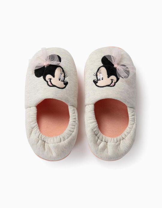 Zapatillas de Casa para Niña 'Minnie Bailarina', Gris