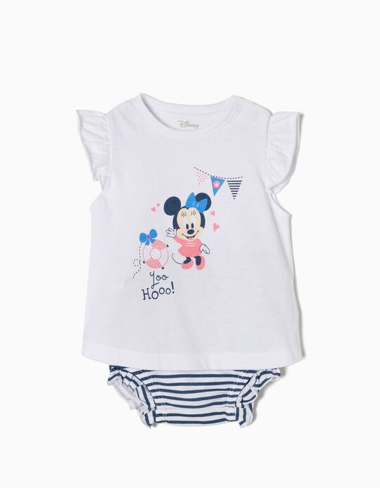 Conjunto Camiseta y Short Minnie Playa