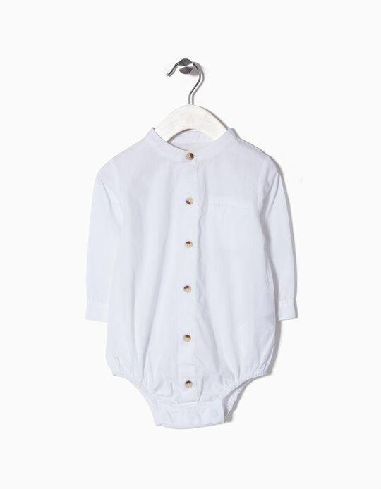 Body con Camisa Mao