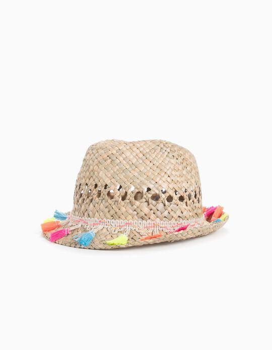 Sombrero de Paja con Cintas
