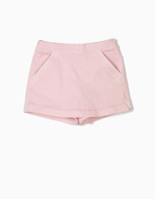 Falda Pantalón para Niña, Rosa