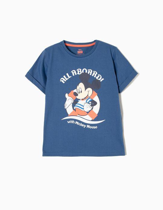 T-shirt Mickey All a Board