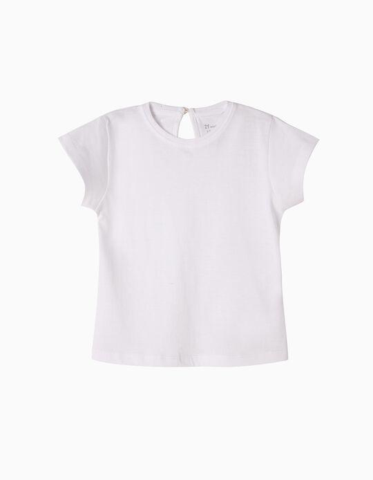 T-shirt Básica Branca