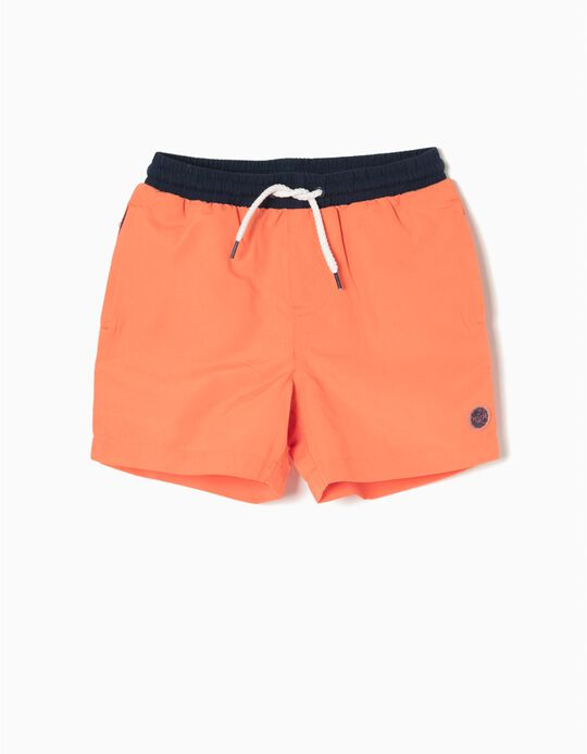 Bañador Short Naranja