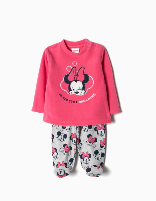 Pijama de dos Tejidos Minnie