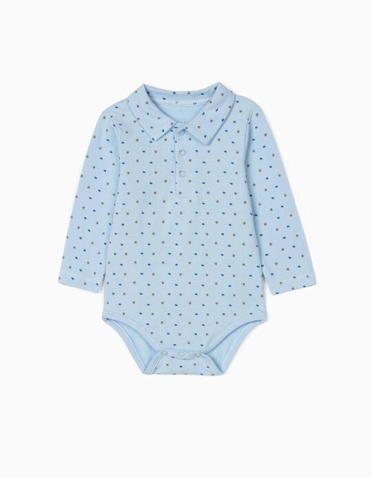 Bodysuit for Newborn Baby Boys, Blue