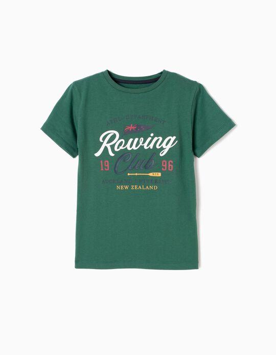 Camiseta Rowing Club Verde
