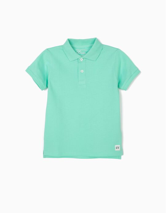 Polo Shirt for Boys, Green