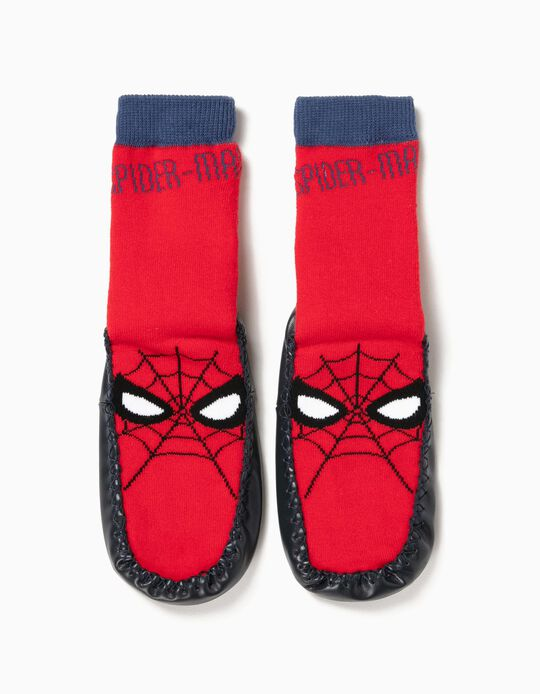 Calcetines Pantuflas Antideslizantes Spider-Man