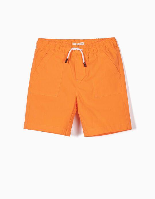 Short para Niño, Naranja