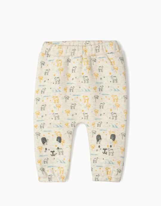 Joggers for Newborns 'Camels', Beige