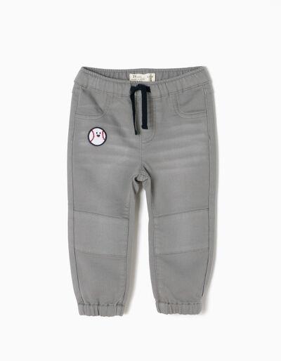 Pantalón Béisbol Gris