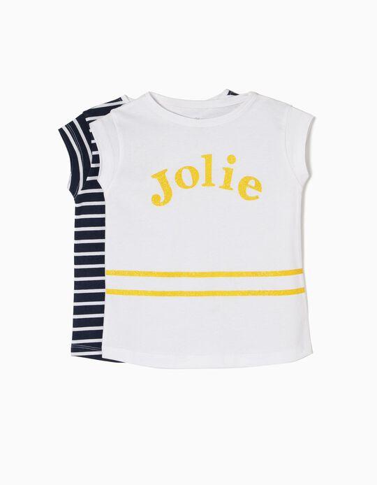 Pack 2 Camisetas de Manga Corta Jolie