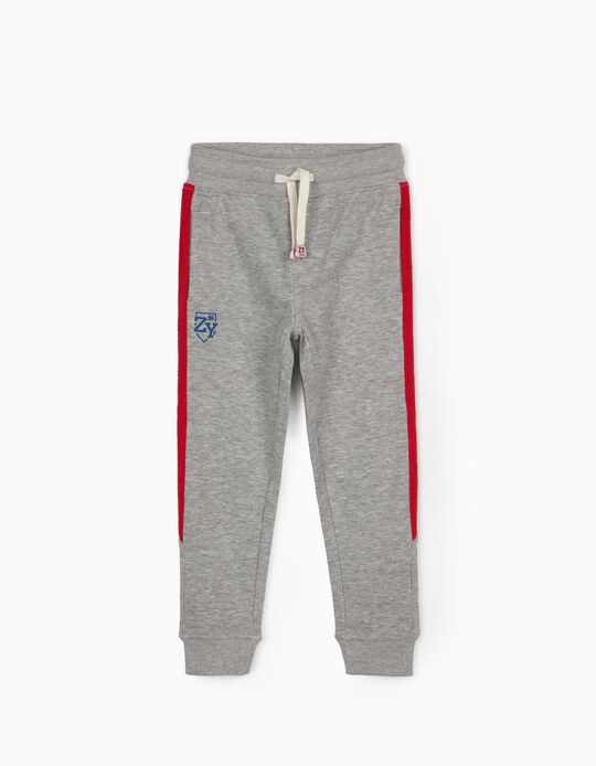 Pantalon de sport garçon 'ZY 96', gris