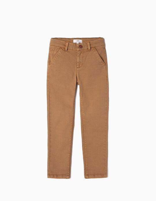 Pantalón Chino para Niño, Camel