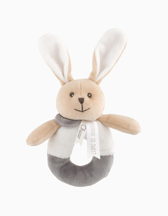 Soft Toy Bunny Rattle by Chicco