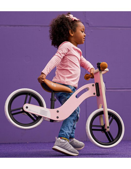 Bicyclette d'apprentissage Uniq Kinderkraft rose
