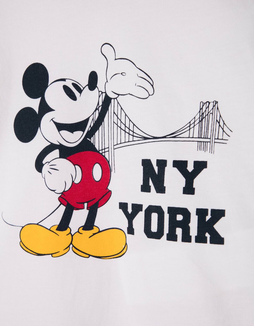 Camiseta Mickey Mouse 1928 Amarilla