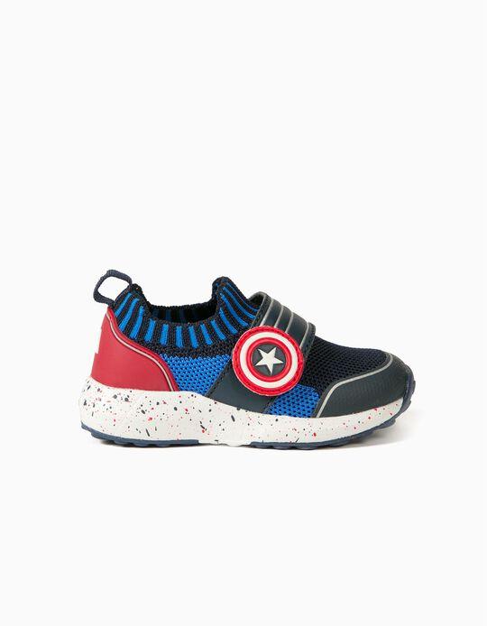 Sapatilhas para Bebé Menino 'Captain America ZY Superlight', Azul