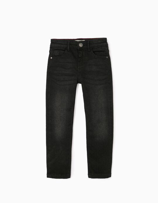 Jeans for Boys, 'Slim Fit', Black