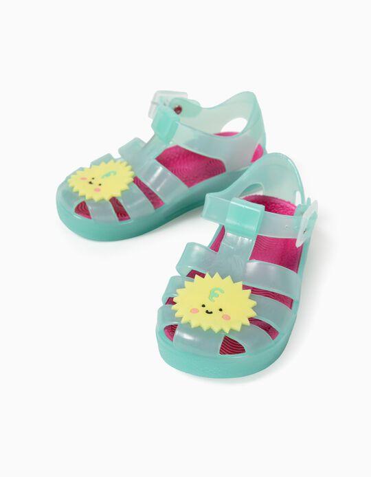 Sandales bébé fille 'Sun', vert