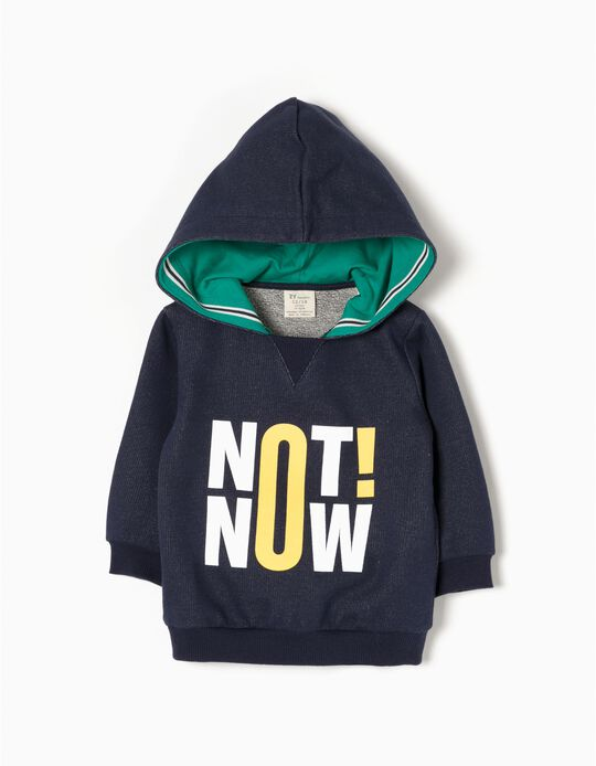 Sudadera con Capucha Not Now!