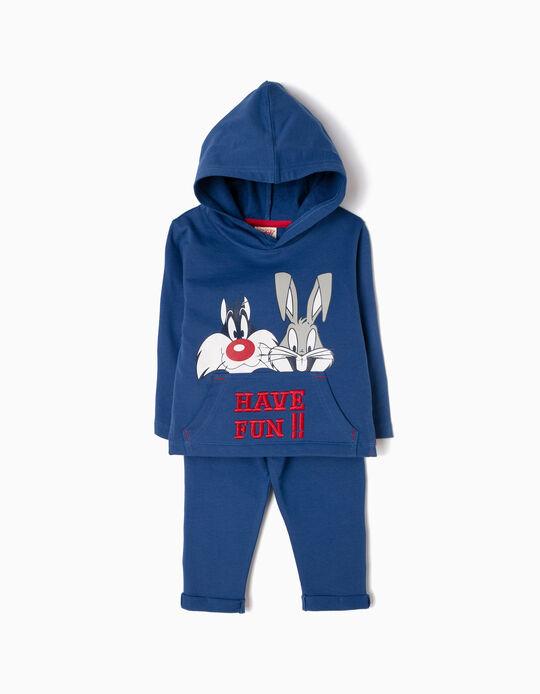 Fato de Treino Sylvester & Bugs Bunny