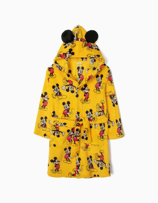 Roupão para Menino 'Mickey', Amarelo