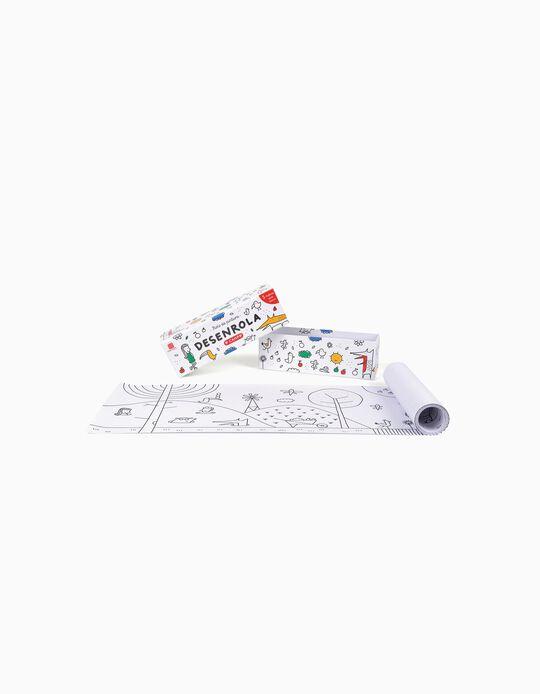 Rolo para colorir Edicare