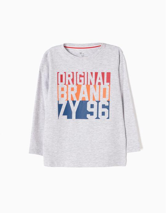Camiseta de Manga Larga ZY 96 Original Brand