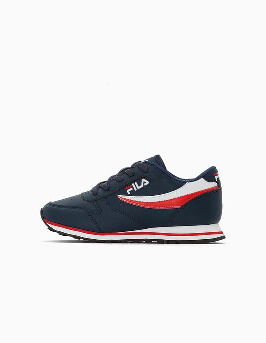 Trainers for Kids 'Fila Orbit', Dark Blue
