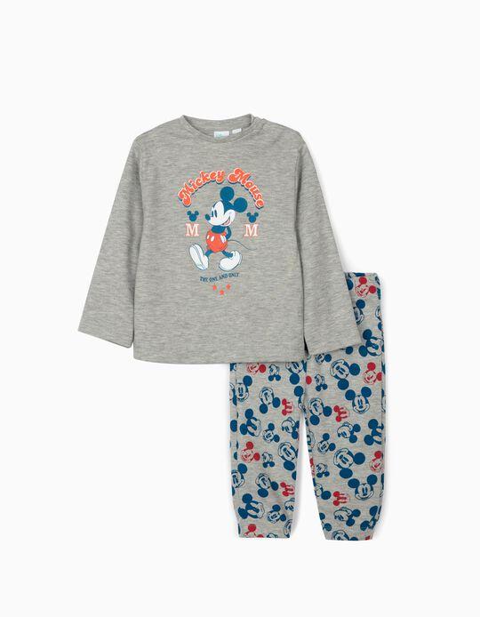 Pijama para Bebé Niño 'Disney Mouse', Gris