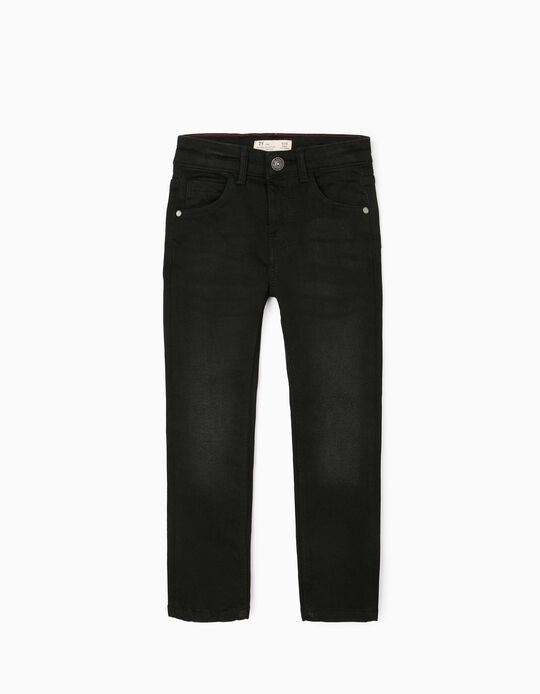 Jeans for Boys, 'Skinny Fit', Black